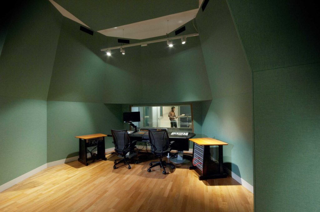 Acoustic studio work MawsonKerr