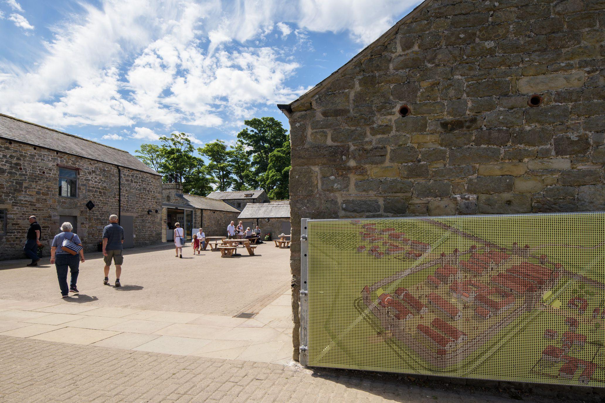 14 Birdoswald Courtyard Entry MawsonKerr